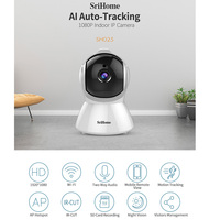 AI Body Auto tracking IP Camera Smart Home Wifi 1080P CCTV Camera H.265 Indoor Night vision Alarm Motion Detection Baby Monitor