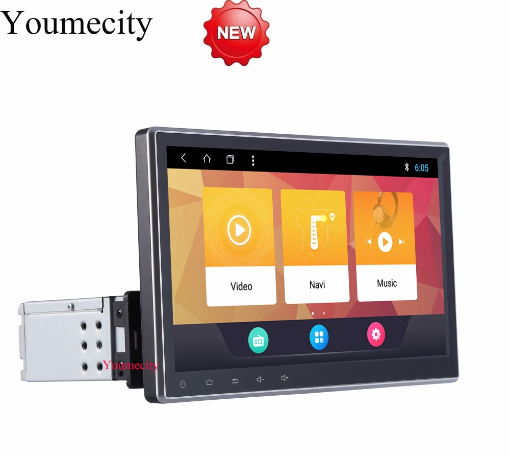 Youmecity 10 1 One Din Android 8 1 Car Multimedia Video Play Tap PC Tablet For