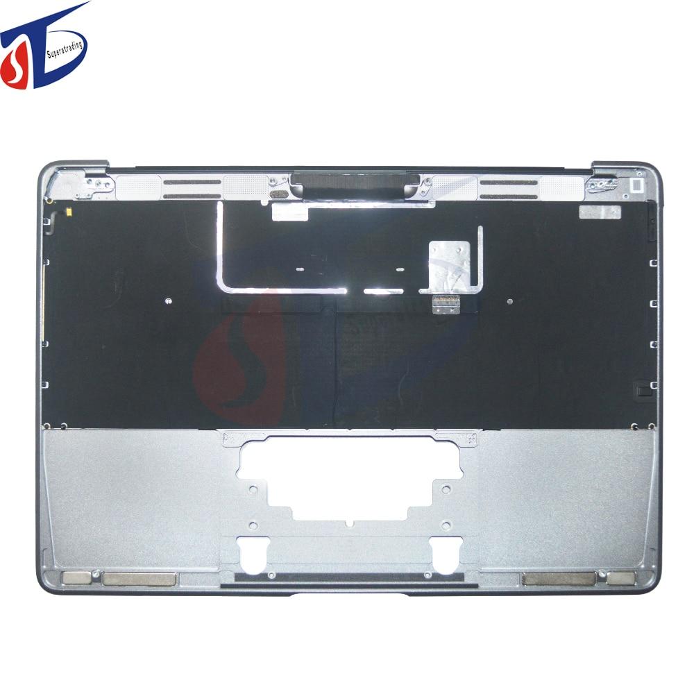 Nouvelle housse DE clavier gris pour ordinateur portable A + pour Apple Macbook Retina 12 ''A1534 allemagne Top gris housse DE protection supérieure 2015 an