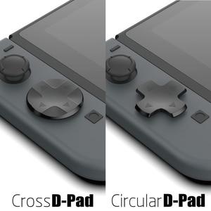 Image 4 - Nintendo anahtarı özel DIY başparmak kavrama seti Joystick kap Analog sopa kapaklar d pad düğmesi nintendo anahtarı NS joycon denetleyici