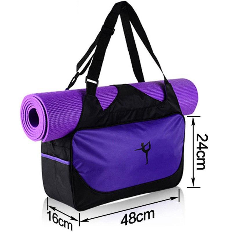 48*24*16cm Waterproof Yoga Mat Backpack (No Yoga Mat) 8