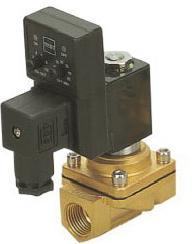 3/8 PU220 series water brass solenoid valve with timer coil 3 4 pu220 series water brass solenoid valve