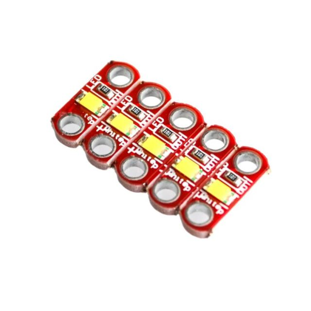 10pcs/lot SMD White LED Module DIY Active Components Diodes for for LilyPad