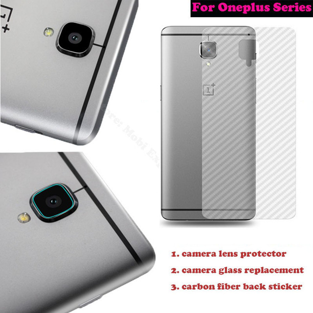 best website 09d71 02d24 US $1.1 5% OFF|For Oneplus 3/3T One Plus 3/2/Two/X Camera Glass Lens  Replacement Tempered Glass Back Cover Protection Rear Sticker  Accessories-in ...