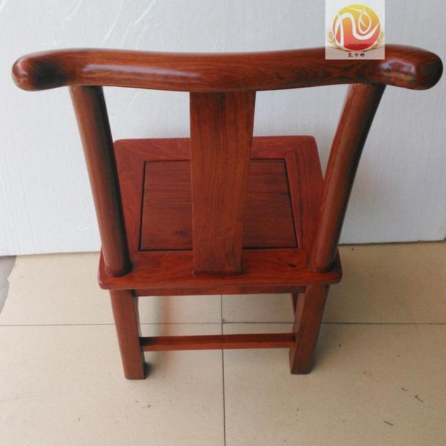 Burmese Rosewood Mahogany Stool Vietnam Large Fruit Sandalwood Furniture Solid Wood Dining Table Chairs Child Household