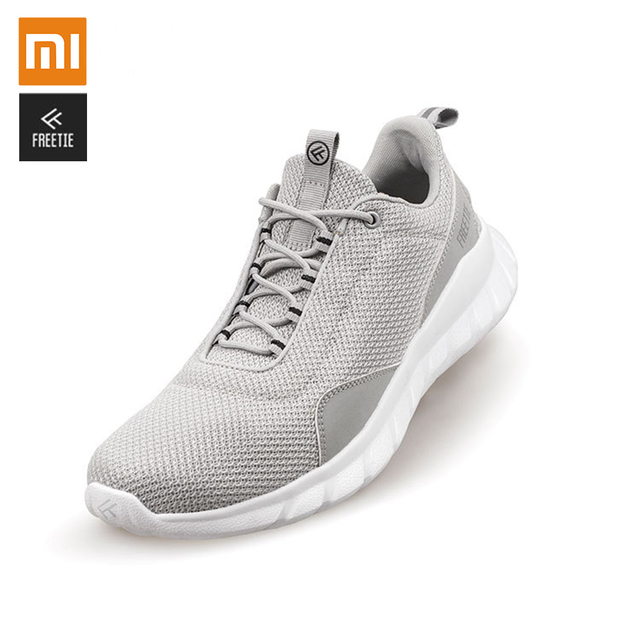 Original Xiaomi FREETIE 39-44 Plus Size Men's Sports Shoes Light Breathable Knitting City Running Sneaker for Outdoor Sports 2