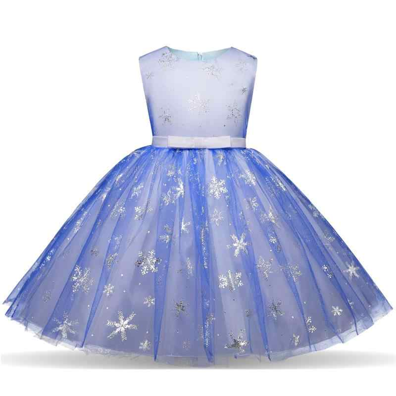 f081d1991711b 3- 10 Years Fancy Princess Dresses For Wedding Halloween Party Costume Kids  Party Birthday Dress Girls Holiday Snowflake Clothes