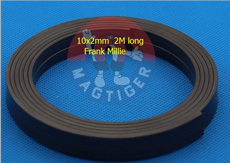 magnet 10x2mm Magnetic Strip  Rubber Magnet 2M Length width 10mm thickness 2mm, 10mm x 2mm диск отрезной алмазный турбо 125х22 2mm 20007 ottom 125x22 2mm