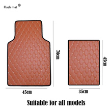 цена на Wenbinge Universal car floor mats for All car model Auto Anti-Slip Mat car foot Pads automobile carpet covers car-Styling