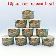 10PCS/LOT MOANA ICE CREAM CUPS KIDS BIRTHDAY PARTY SUPPLIES BOWLS WHOLE