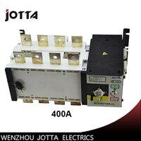 Nuevo Grado 400amp 220 V 230 V 380 V 440 V 4 polos interruptor de transferencia automática