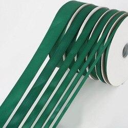 Ruban à gros grain vert foncé, 5 yards/lot, 7mm, 10mm, 15mm, 20mm, 25mm, 38mm, pour cheveux, décoration de mariage, emballage de boîte cadeau, ruban de noël