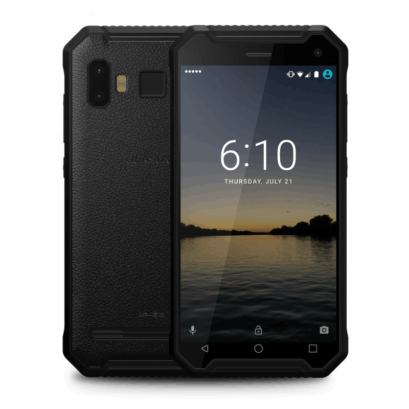Jeasung P8 2017 New Rugged Smartphone Quad Core MTK6737 Android 7 0 2 16GB 5000mAh Battery
