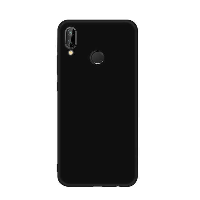 Black Matte Soft TPU Phone Case For Huawei Mate 20X P20 Pro Mate 10 Lite For Honor 8X Max 8C 6C Pro 10 9 Lite Frosted Cover Capa