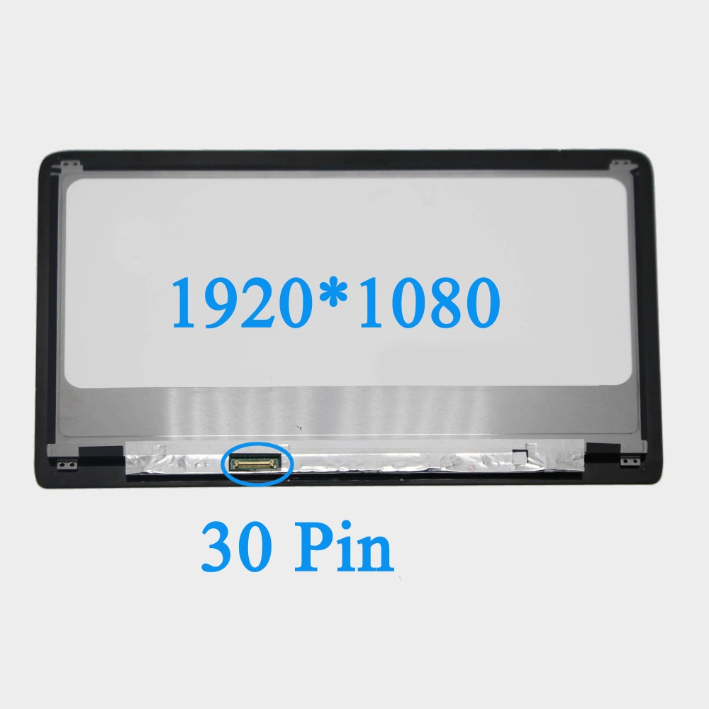 LED LCD Display Assembly +Front Glass Panel for HP Spectre 13-3014tu