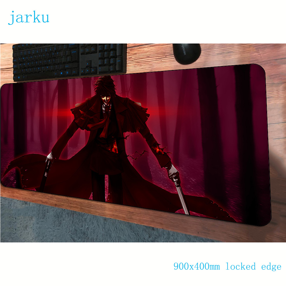 hellsing <font><b>padmouse</b></font> <font><b>900x400x3mm</b></font> gaming mousepad game cute large mouse pad gamer computer desk hot sales mat notbook mousemat pc image