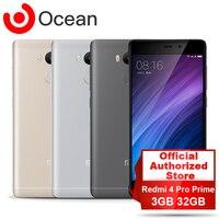 Original Xiaomi Redmi 4 Pro Prime 3GB RAM 32GB ROM Smartphone Snapdragon 625 Octa Core CPU 5.0