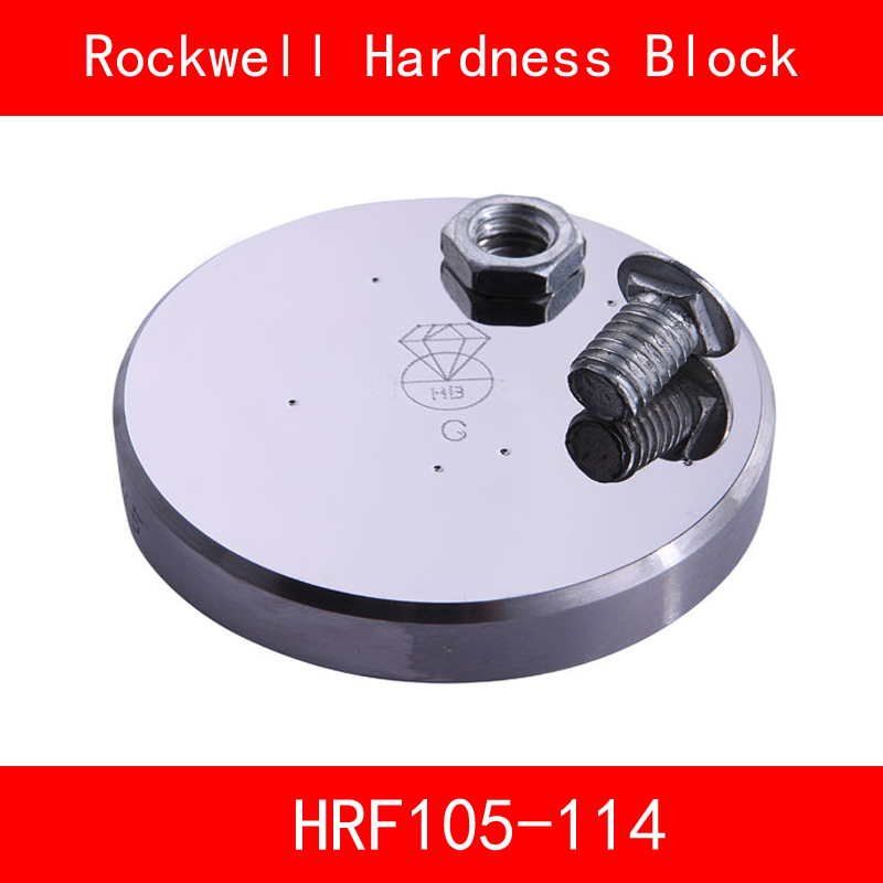 Rockwell Hardness 105-114HRF Metallic Rockwell HRF Hardness Reference Blocks Hardness Test Standard Block Hardness Tester rockwell