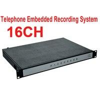 1000 GB speicher 16ch embedded telefon recorder IP remote monitor funktion telefon monitor unternehmen verwenden telefon logger