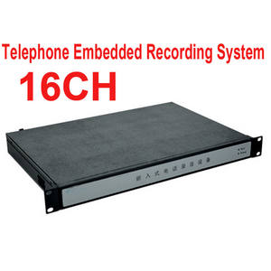 Telephone-Monitor 16ch 1000GB Logger Embedded Memory Enterprise-Use