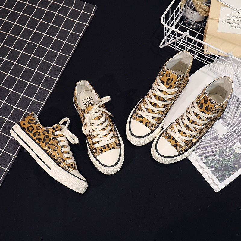 Spring/Autumn Women Sneakers Tenis Feminino Canvas Shoes Star Leopard Print Trainers Walking Shoes Woman Chaussure Femme XZ-42Spring/Autumn Women Sneakers Tenis Feminino Canvas Shoes Star Leopard Print Trainers Walking Shoes Woman Chaussure Femme XZ-42