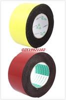 1pcs 60mm X 2mm Single Sided Self Adhesive Shockproof Sponge Foam Tape 5M Length