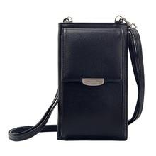 цена на 2019 Elegant Women Small Shoulder Bags Solid Color Flap Solid Hasp Phone Bag PU Leather Crossbody Bag Casual Lady Messenger Bags