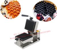 Free Shipping Cost Electric 220v Honeycomb Waffle Baker Machine
