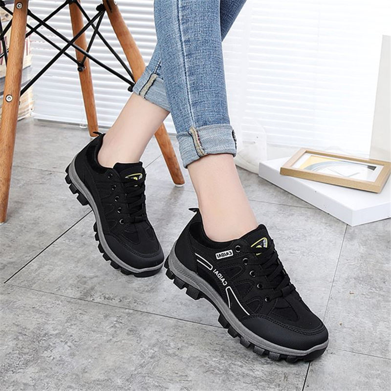Hiking Shoes Outdoor Sneakers Waterproof Breathable Women Non-Slip Male