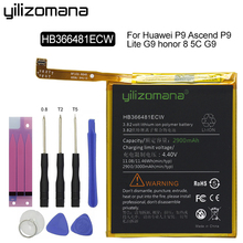 Get more info on the YILIZOMANA High Capacity Phone Battery HB366481ECW For Huawei P9/P9 Lite/ G9 /Honor 7 Lite GT3/Honor 8 Lite/Honor 5C 2900mAh