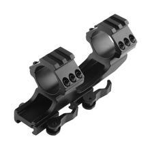 Quick Release 25mm+30mm Rifle Scope Mount Sight Bracket Dovetail Rail Ring Profile Pistol Adapter Hunting Caza with Hex Wrench