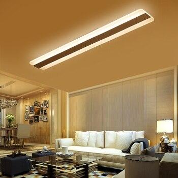 Moderne Minimalismus Hohe Helligkeit Led Decke Lampe Beleuchtung Wohnzimmer Schlafzimmer Kronleuchter Rechteckigen Decke Lampen