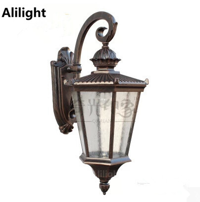 Vintage Fashion Pineapple Wall Light Outdoor Waterproof Porch Lights  Courtyard Gazebo Sconces For Home Modern E27