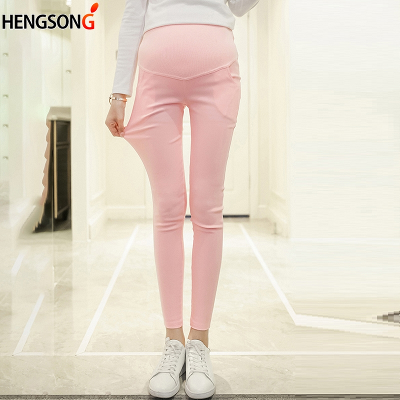 Maternity Pencil Pants For Pregnant Trousers Casual Pregnancy Clothes Maternity Nursing Prop Belly Pant Pregnancy Clothing