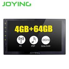 """JOYING 4G di RAM Android 8.1 2 Din registratore a Nastro Stereo 7 """"GPS Auto Lettore Radio Octa 8 Core unità di testa supporto carplay DSP 4G Modulo"""