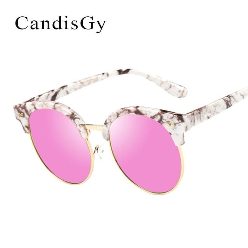 Vintage Cat Eye New Sunglasses Women Brand Designer Mirror Sun Glasses Male Female Flat Shades UV400 Shop online