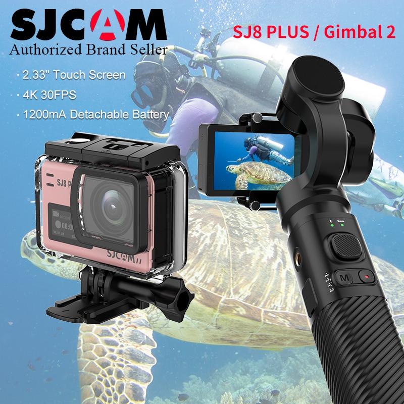 Original SJCAM SJ8 Plus 4K Touch Screen WiFi Remote Helmet Sports Action Camera /New SJCAM Handheld GIMBAL2 3 Axis Stabilizer mgcool explorer 3 4k sports camera touch screen