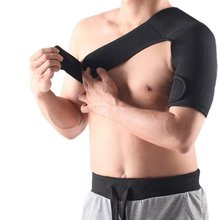 Adjustable Elastic Shoulder Support Brace Basketball Arm Sleeve Men Safety Sports Injury Guard Posture Corrector Back Protector