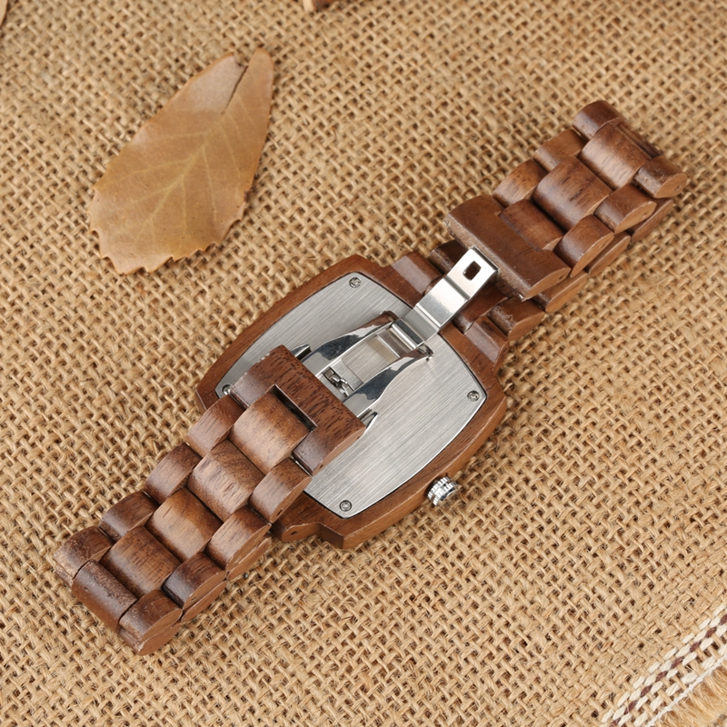 Unique Walnut Wooden Watches for Lovers Couple Men Watch Women Woody Band Reloj Hombre 2019 Clock Male Hours Top Souvenir Gifts 2019 2020 2021 2022 2023 (8)