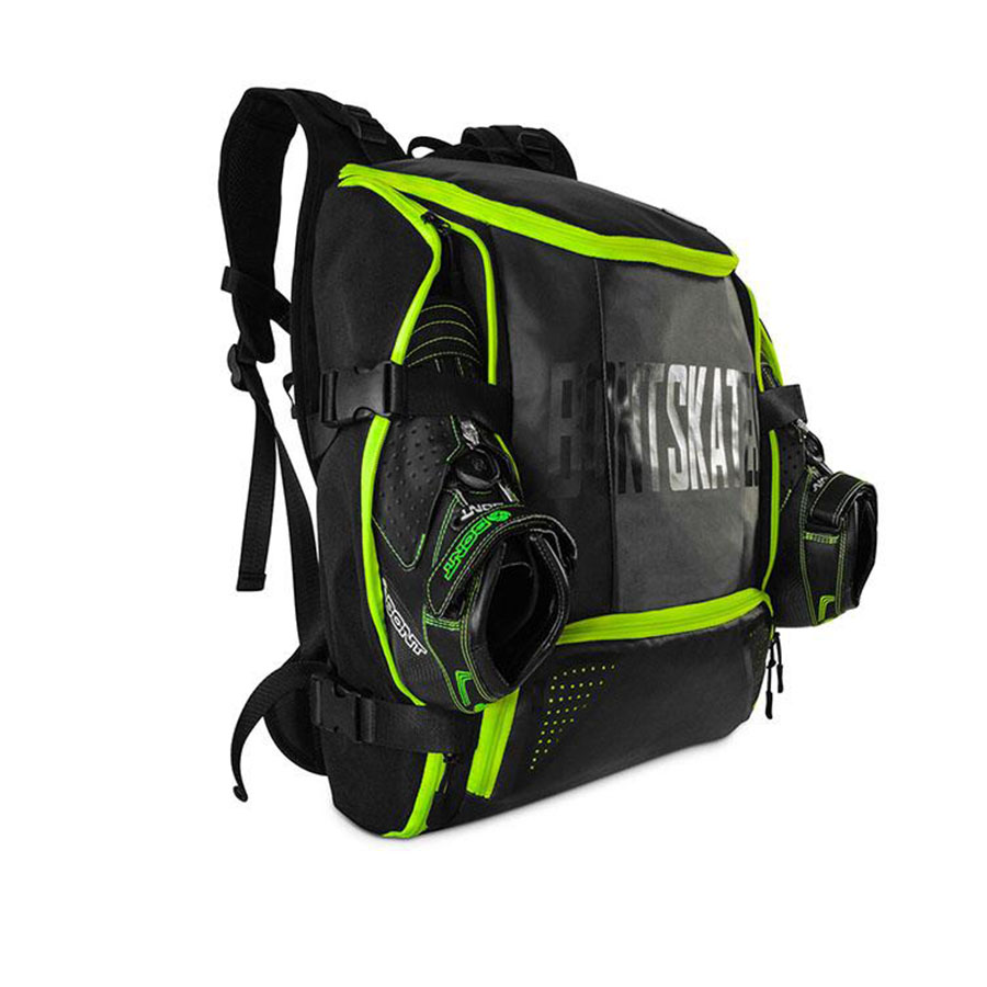 100 Original Bont Inline Speed Skates Backpack 28L Professional Roller Skating Shoes Bag Helmet Holder Protective