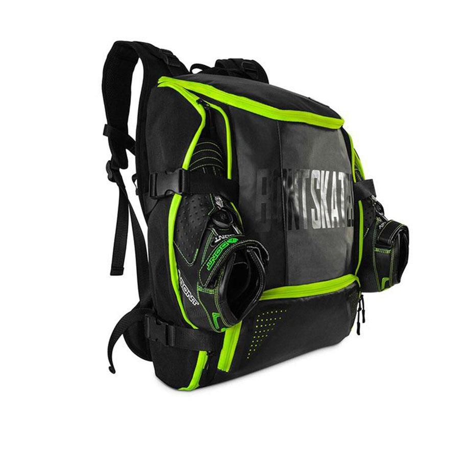 все цены на 100% Original Bont Inline Speed Skates Backpack 28L Professional Roller Skating Shoes Bag Helmet Holder Protective Knee Pads Bag онлайн