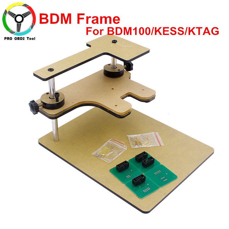 New Top Related BDM Frame With Aapters Works For BDM Programmer/CMD 100 Full Sets Fits For FGTECH V54 KESS KTAG Free Shipping