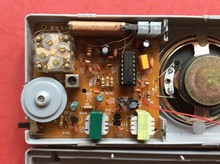 HAF208 Radio Kit / parts / electronic production /DIY / FM Radio Kit