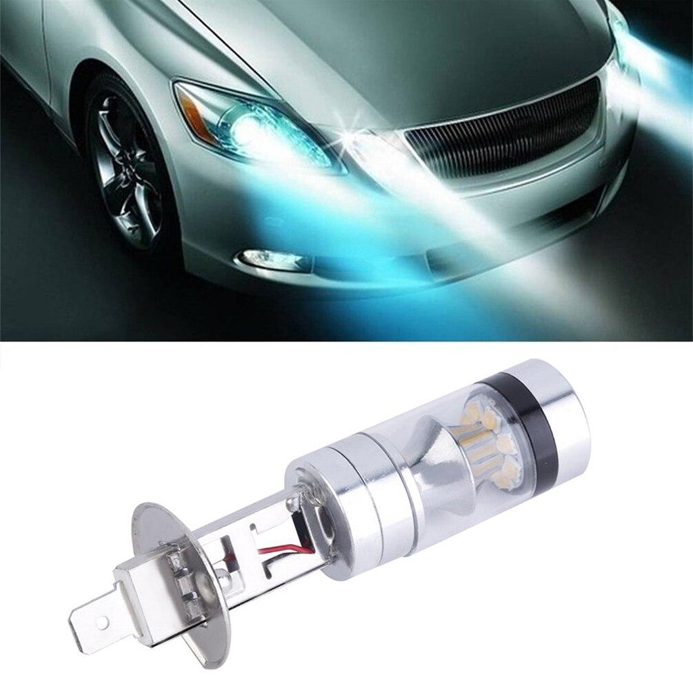 CARGOOL H1 LED Car Fog Light Assembly Super Bright Headlight Bulb Energy-efficient Auto DRL Bulb 100W White