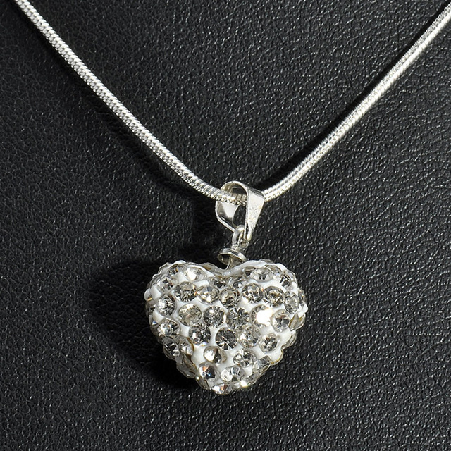 Leeft 2018 romantic heart choker polymer clay necklace women leeft 2018 romantic heart choker polymer clay necklace women necklaces pendants for women crystal pendant mozeypictures Gallery