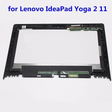 "11.6 ""Для Lenovo IdeaPad Yoga 2 11 20332/20428 Ассамблея ЖК-Экран + Сенсорный Дигитайзер с Рамкой LP116WH6 SPA1"