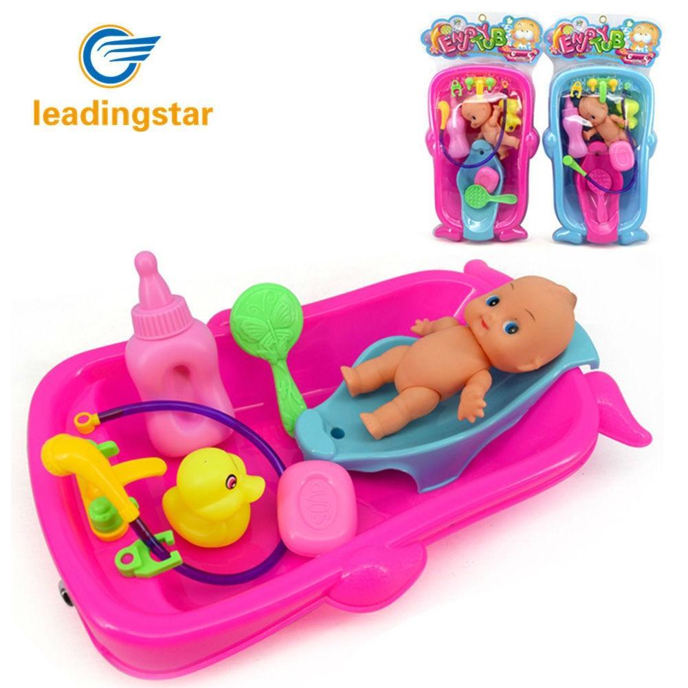 Leadingstar Baby Bath Water Toys Cute Pretend Play Bathtub Floating Set for Kids bath toys