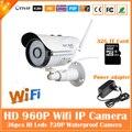 960 p cámara bullet ip wifi 1.3mp motion detección impermeable al aire libre mini cctv de vigilancia de seguridad cctv blanco freeshipping