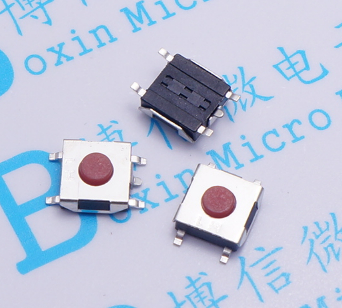 Knowledgeable 400pcs Micro Switch 6*6*2.5h/3.1h/3.7h Red Head 5p Touch Switch Button Switch Reset Switch Smd Patch Switches