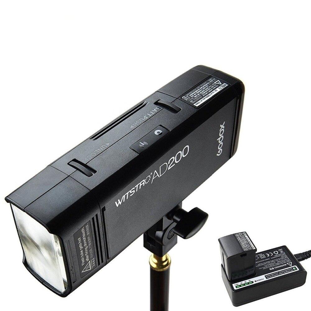 Godox AD200 200Ws 2.4G TTL Flash stroboscope 1/8000 HSS sans fil Monolight avec couvercle 500 prises de vue pleine puissance et recycler en 0.01-2.1SecGodox AD200 200Ws 2.4G TTL Flash stroboscope 1/8000 HSS sans fil Monolight avec couvercle 500 prises de vue pleine puissance et recycler en 0.01-2.1Sec